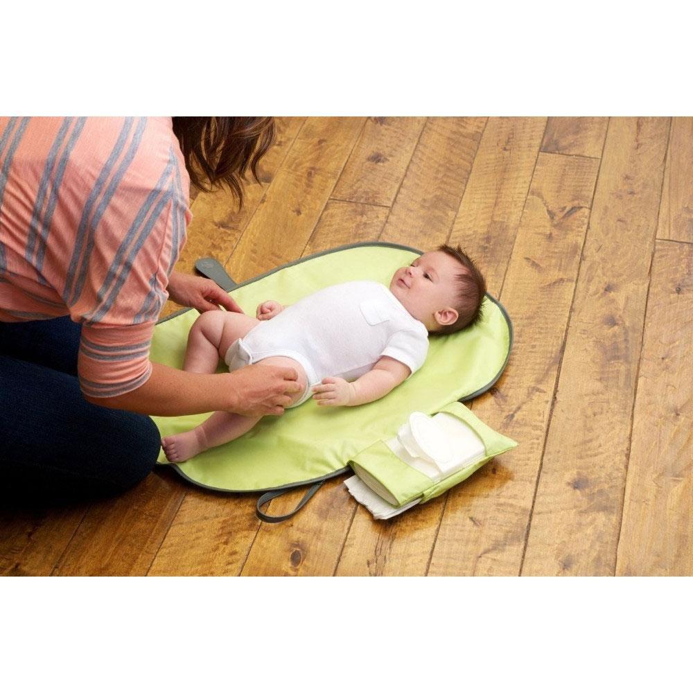 Bolso cambiador bebe de mano plegable de viaje Pawaca port/átil cambiador Kit Cambiador de Viaje impermeable Cambiador bebe portatil para cambiar de pa/ñales o ropa al beb/é