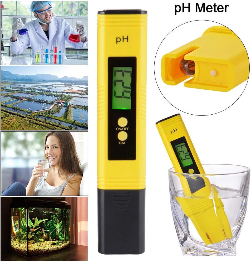 StepWorlf Compteur num/érique /électrique PH LCD Testeur Aquarium hydroponique Pen Test de leau TH1240