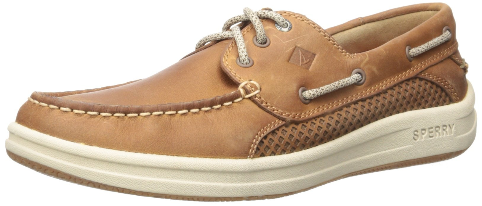 Sperry Top-Sider Men's Gamefish 3-Eye Boat Shoe, Dark Tan, 10 M US