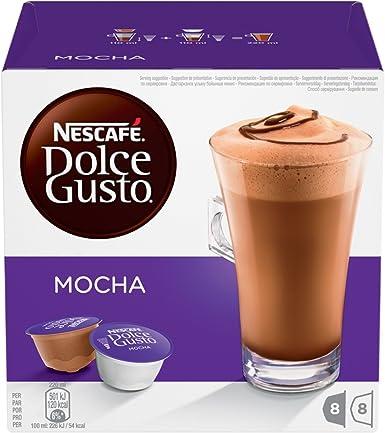 NESCAFÉ Dolce Gusto Mocha   Cápsulas Sabor a Chocolate - 16 ...