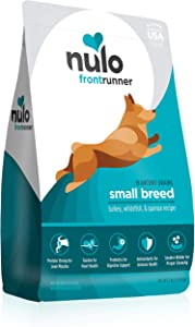 Nulo Frontrunner Dry Small Breed Dog Food - Turkey, Whitefish & Quinoa Recipe Kibble for Puppy, Adult