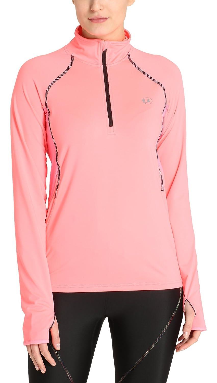Ultrasport Midlayer Salia T-Shirt Donna Funzionale Sportiva da Jogging a Manica Lunga Summary
