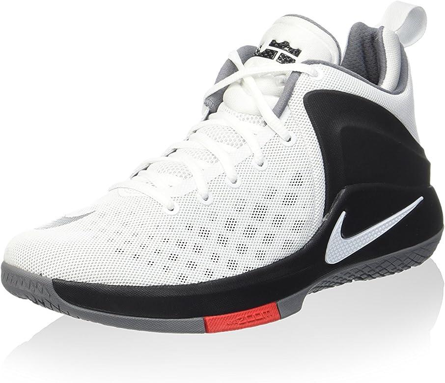 Nike 852439-100, Zapatillas de Baloncesto para Hombre, Blanco ...