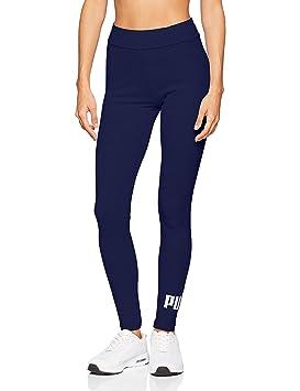 ce60c4419 Puma ESS Logo Leggings Pantalons Femme, Peacoat, FR (Taille Fabricant : XS)