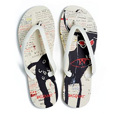ce8715a7485c Tidal New York - Comfortable Flip Flop Sandals for Women - Basquiat - Beige  - Made