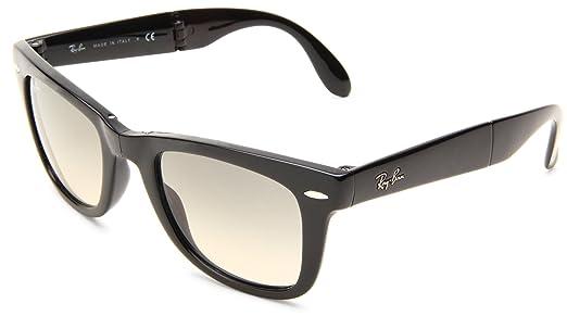 ray ban folding sunglasses uk  ray ban folding wayfarer rb4105 710 light havana