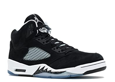 242cb4120222 Jordan Air 5 Retro Oreo Men s Shoes Black Cool Grey-White 136027-035