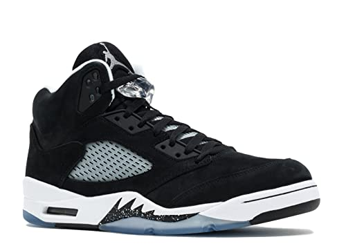 378aeba35e5 Jordan Air 5 Retro Oreo Men's Shoes Black/Cool Grey-White 136027-035