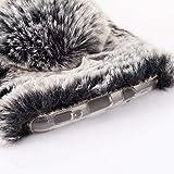 LG G2 Case, Lovely Warm Handmade Bunny Furry Luxury