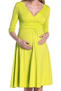 Happy Mama Boutique De Las Mujeres Maternidad Enfermería Círculo Jersey Vestido 282p