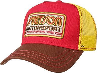 Stetson Gorra Trucker Motorsport Hombre - de Baseball Malla ...