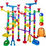 Marble Run Sets for Kids - 142Pcs Marble Race Track Marble