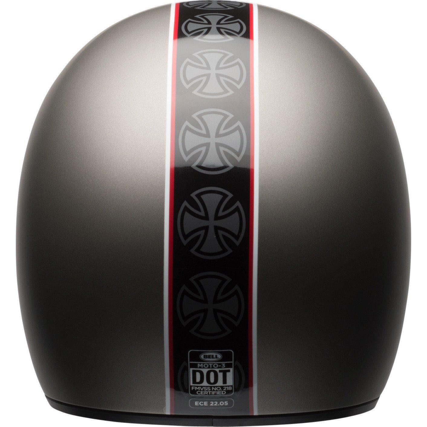/Mondial Titanium Bell 2017/Moto 3/r/étro de motocross MX casque de moto/