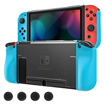 MoKo Funda Protectora Compatible con Nintendo Switch y Mando Joy ...