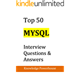 Top 50 MySQL Interview Questions & Answers (English Edition)