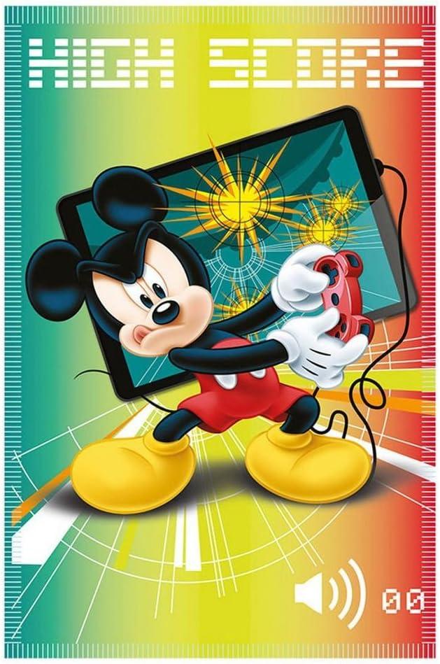 Mickey Mouse High Score | Manta Polar Infantil | 100 x 140 cm | Disney Blanket: Amazon.es: Juguetes y juegos