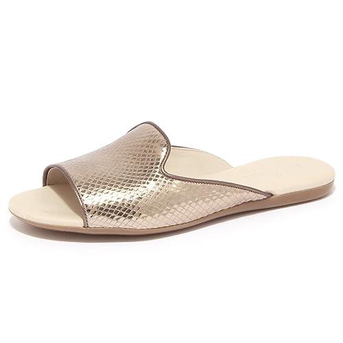 1433Q ciabatta HOGAN VALENCIA bronzo scarpa donna sandal woman