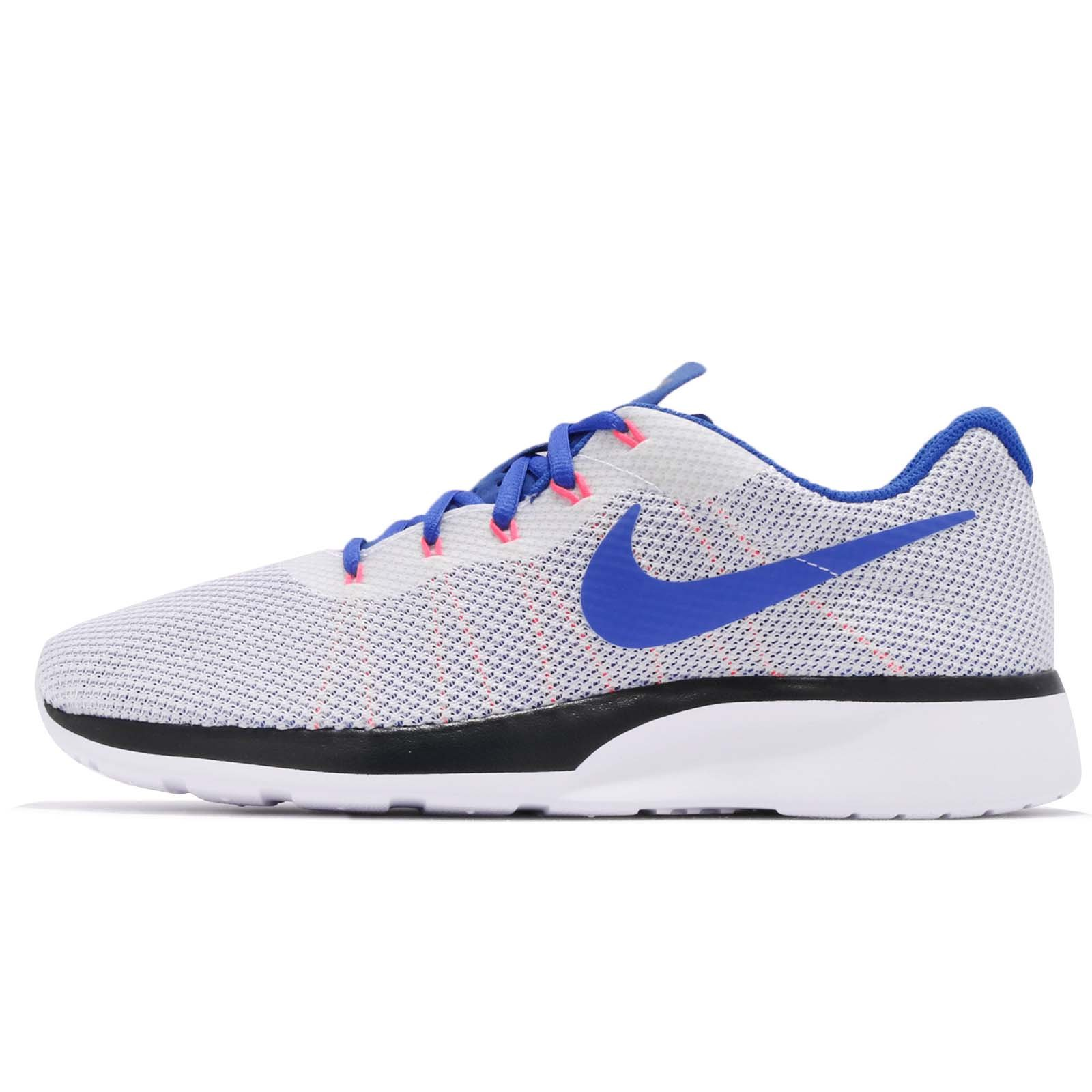 Galleon - Nike Mens Tanjun Racer WHT Ultramarine Solar RED BLK Size 10
