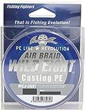 Fishing Fighters(フィッシングファイターズ) PEライン エアブレイド ワイルドエイト キャスティングPE 150m 1号 22lb ホワイト FF-ABWC150-1.0
