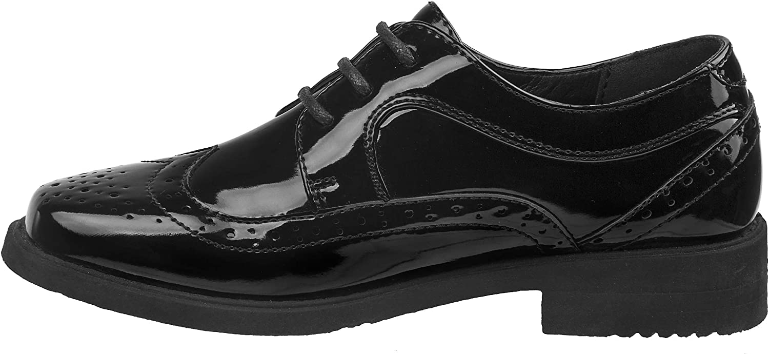 Toddler, Little Kid, Big Kid JOSMO Boys Wingtip Oxford Lace Dress Shoes