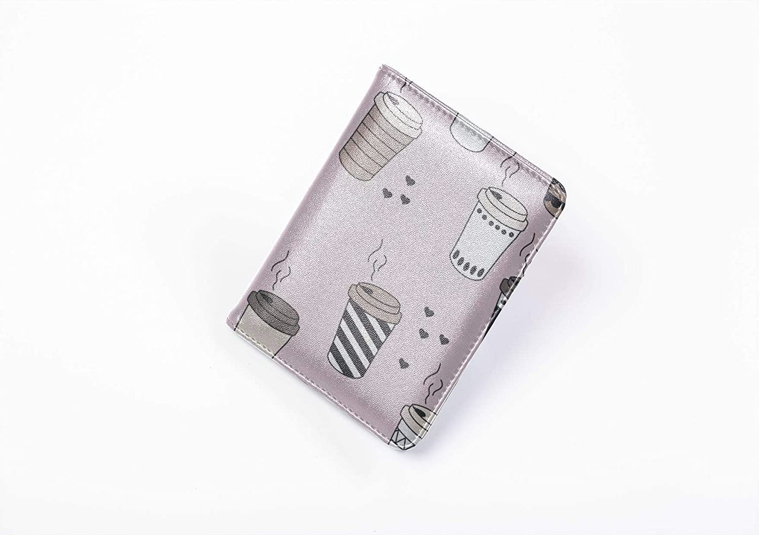 Usa Passport Cover Fashion Creative Water Glass Container Cases For Passport Multi Purpose Print Case Passport Holder Travel Wallets For Unisex 5.51x4.37 Inch