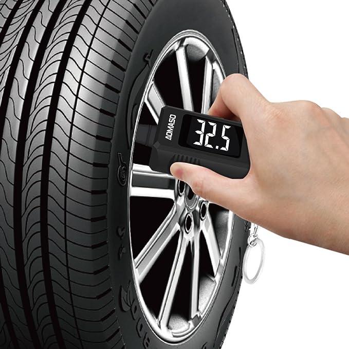 Manómetro para Neumático y de Profundidad del Dibujo 2 en 1 Aomaso con Llavero Cadena para Automóvil, SUV, Camioneta y Otros Vehículos: Amazon.es: Coche y ...