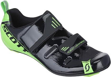 Scott bicicleta de triatlón Tri Pro zapatos colour negro/verde 2016 Negro black/neon green Talla:38: Amazon.es: Deportes y aire libre