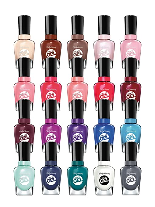 Sally Hansen Miracle Gel Set 6-Piece Random Collection