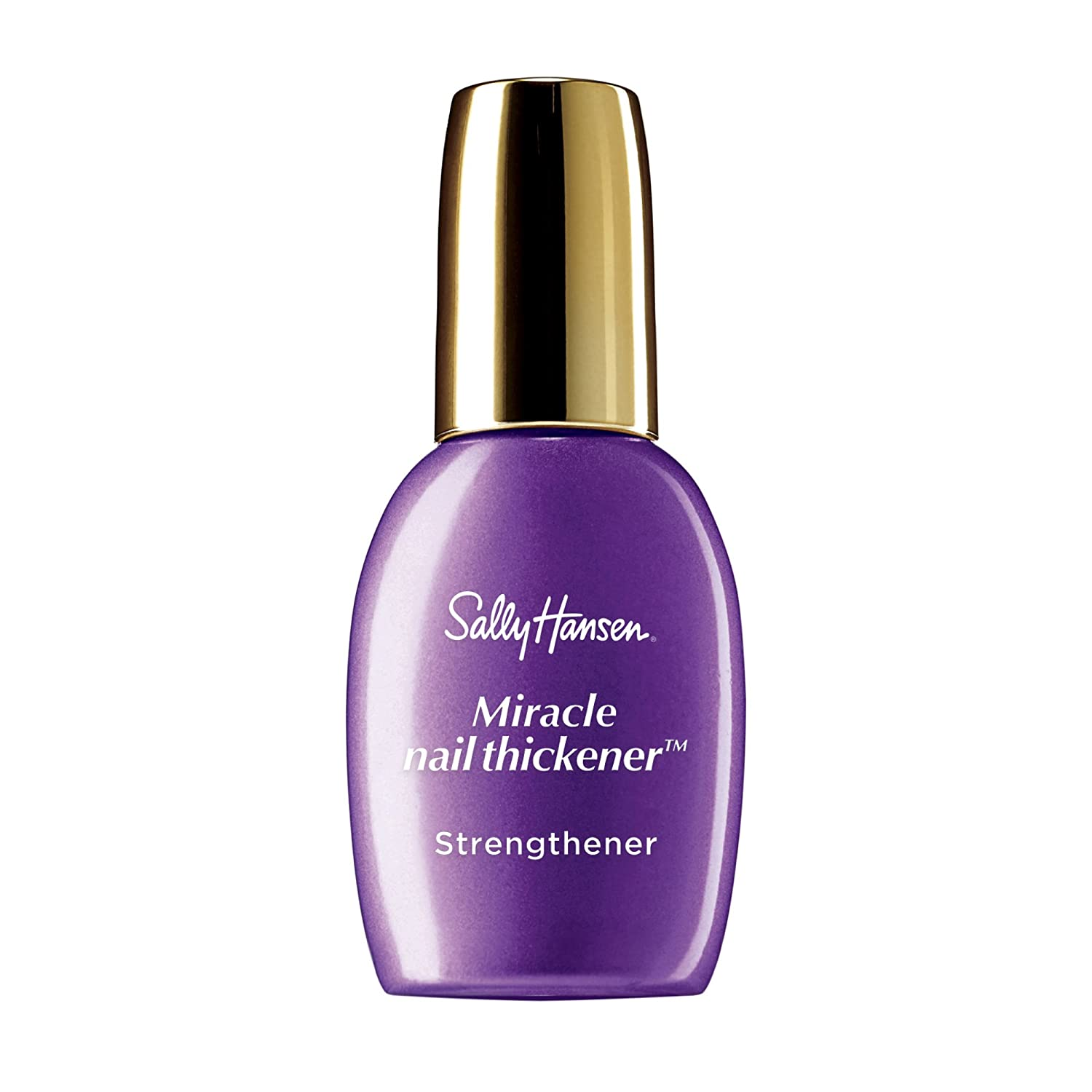 Amazon.com : Sally Hansen Miracle Nail Thickener Strength 3192 Clear ...