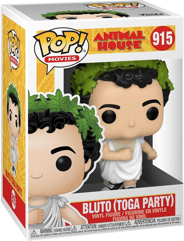 Bluto with Toga #915 Pop Movies Animal House Vinyl Figure Includes Ecotek Pop Box Protector Case