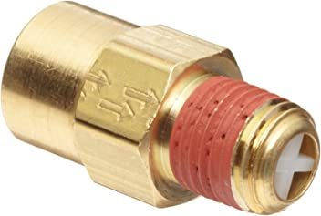3//4 Male NPT 60 psi Set Pressure Control Devices SB75-0A060 SB Series Brass Soft Seat ASME Safety Valve