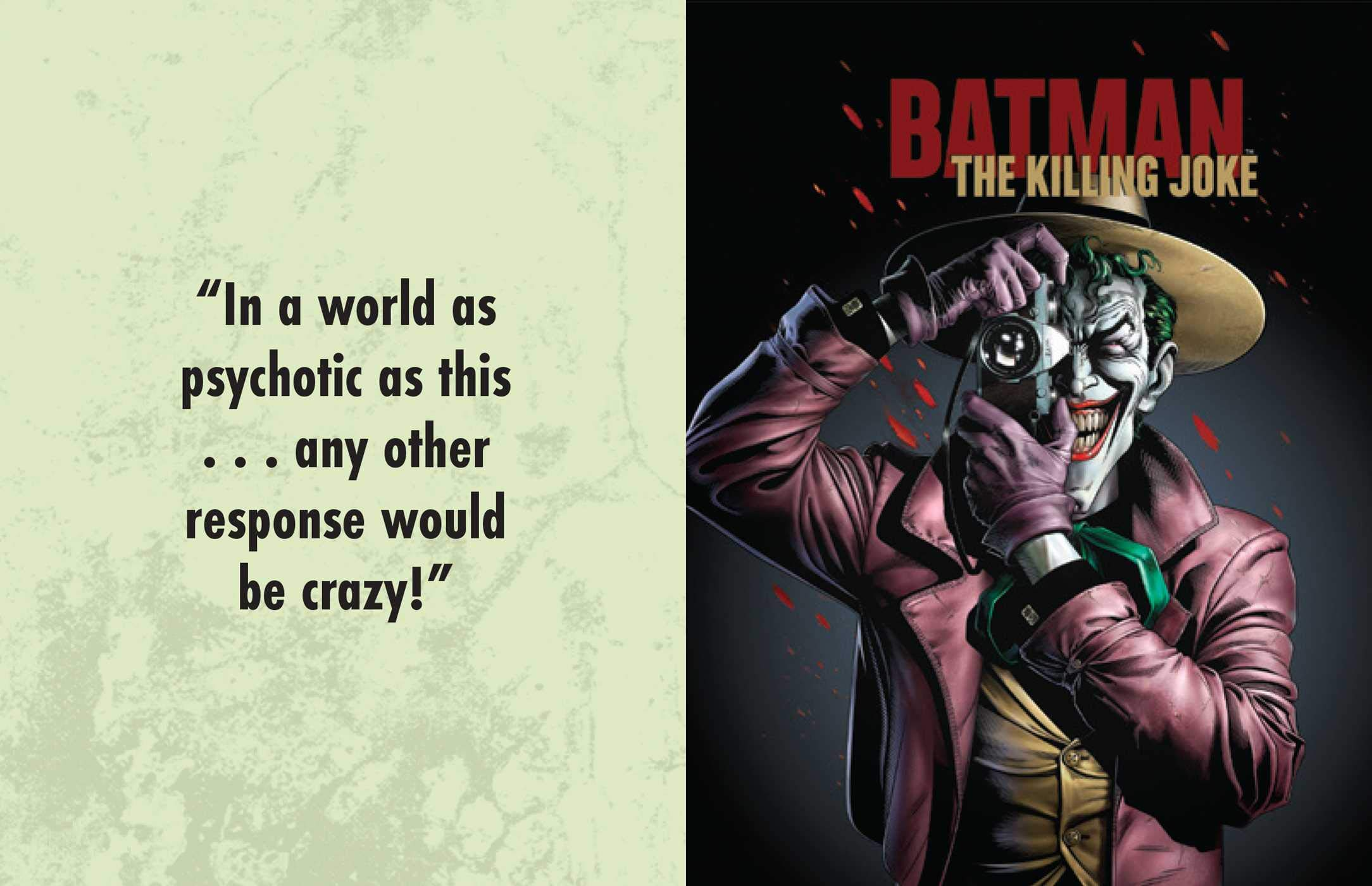 Dc Comics The Joker Quotes From The Clown Prince Of Crime Tiny Book Reed Darcy 9781683836995 Amazon Com Books
