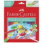 Lápis de Cor Ecolápis Aquarelável 24 Cores, Faber-Castell
