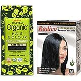 Radico 100% Organic Herbal Natural Black Hair Colour