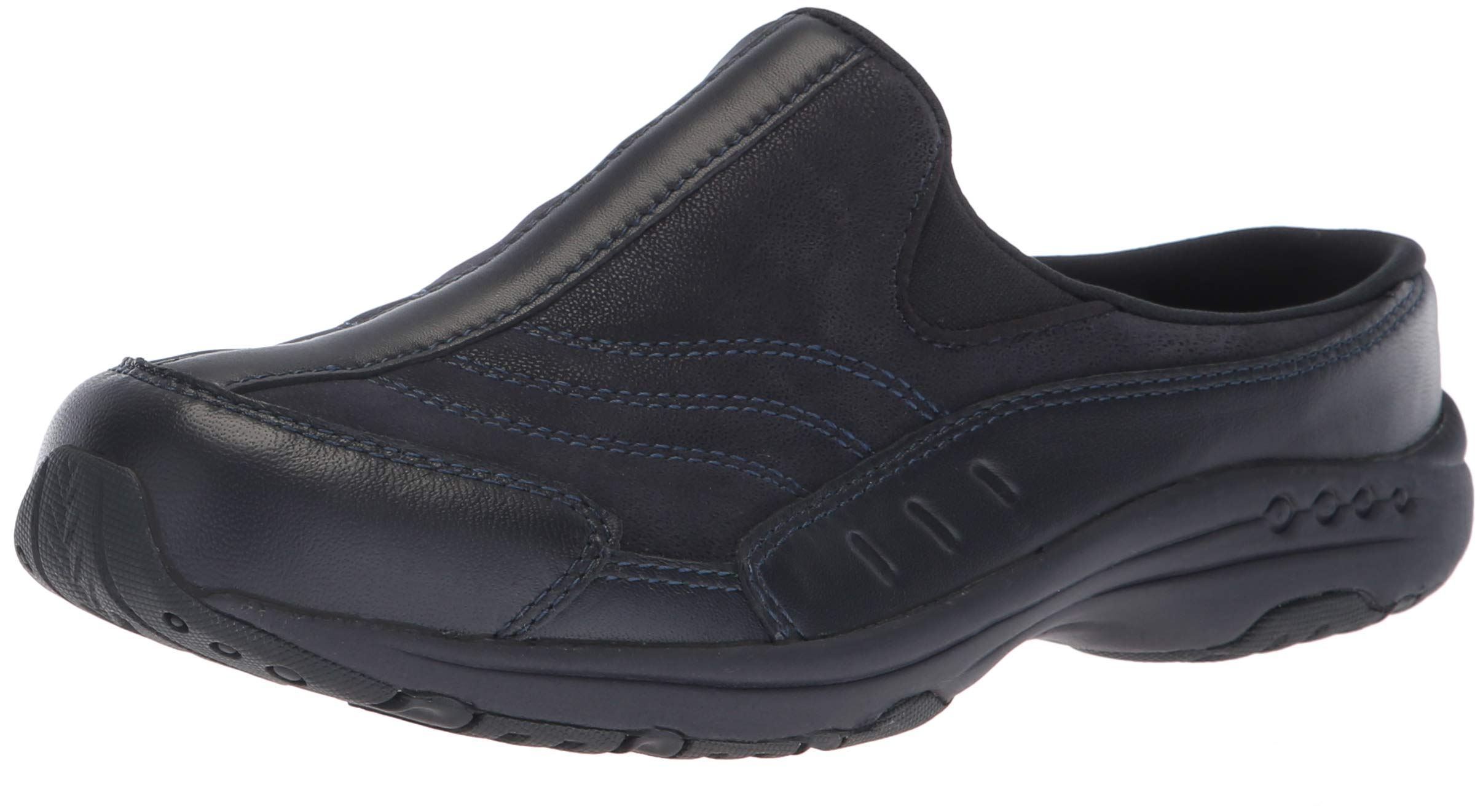 Easy Spirit Women's TRAVELTIME234 Mule, Navy, 9 W US