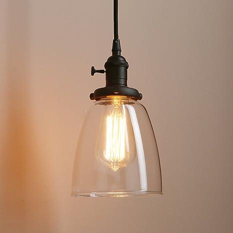 Pathson 1 light mini pendant lighting with clear glass shade pathson 1 light mini pendant lighting with clear glass shade vintage style hanging lamp aloadofball Gallery