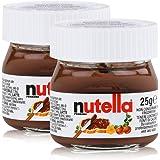 2x Ferrero Nutella World Glas Brotaufstrich Schokolade 25g