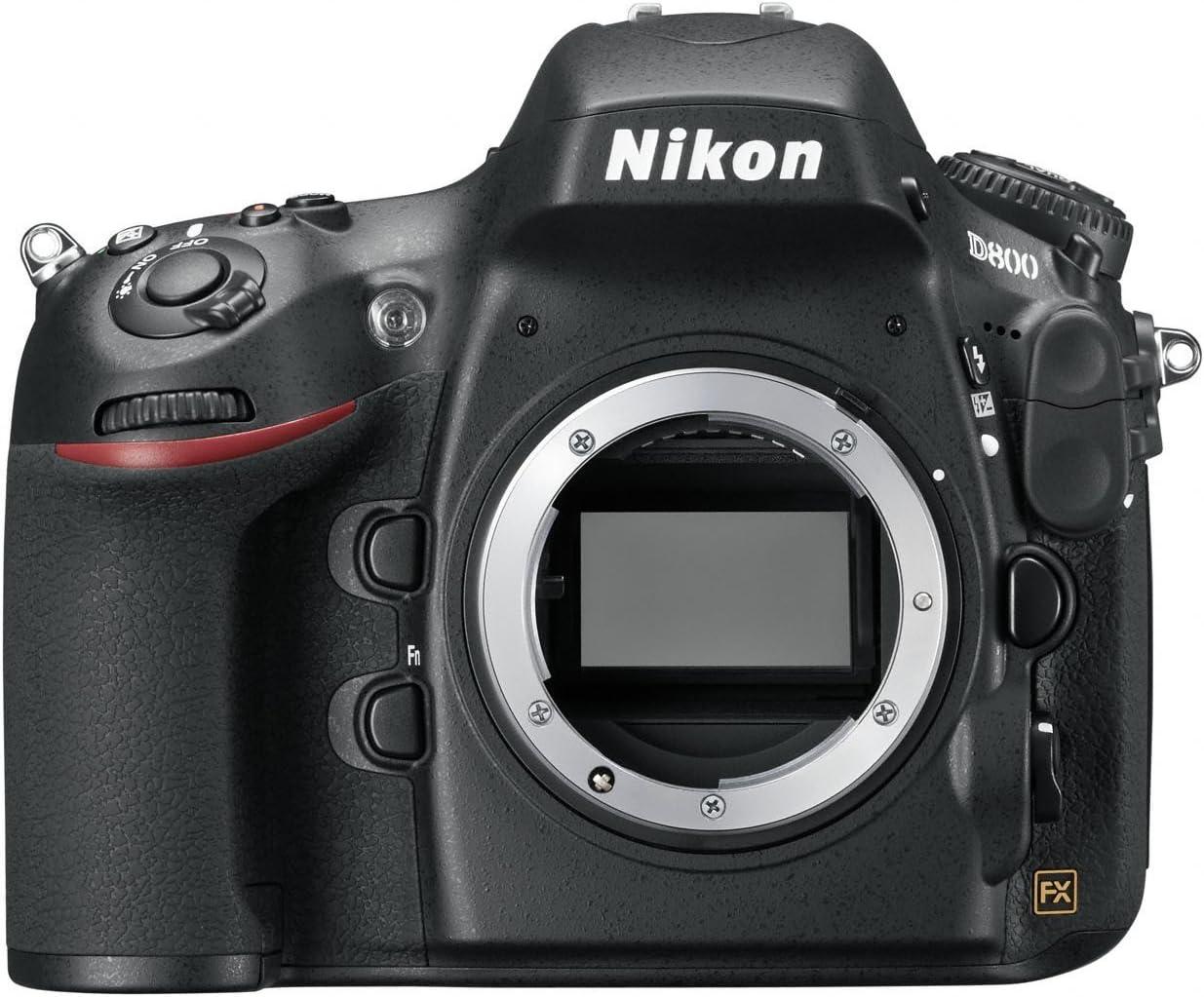 Nikon D800 - Cámara réflex digital de 36.3 Mp (pantalla 3.2in ...