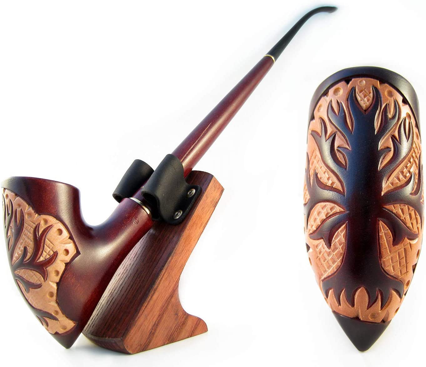 Churchwarden LONG PIPE Smoking pipe Wooden Pipe Tobacco pipe Birthday Personalized Gift Groomsmen Gift Wedding Gift for Him Custom Engraving