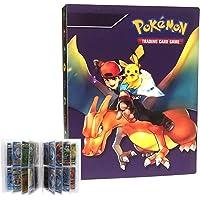 LSST Album for Pokemon Trading Cards, Pokemon Binder, Pokemon Card Holder, Pokemon Card Holder Binder, Pokemon Card Book…