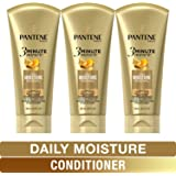 Pantene, Conditioner, Pro-V Daily Moisture Renewal for Dry Hair, 3 Minute Miracle, 6 Fl Oz (Pack of 3)