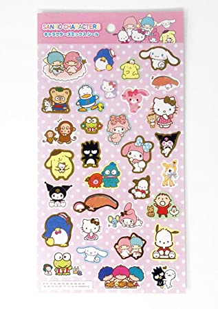 Sanrio Characters Stickers Sheet Japan Special by Sanrio
