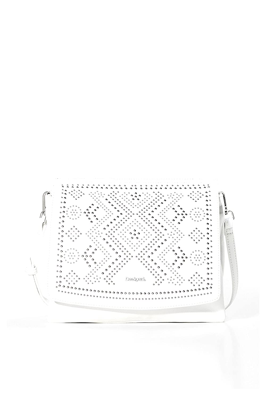 Amberes Crux Femme Bandouliere Blanc Desigual A Sac eWxordCB
