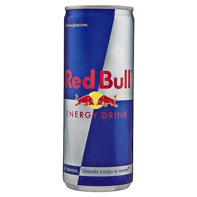 766836e71ab81 Red Bull - Bebida energético - Regular Lata 250 ml  Amazon.es ...