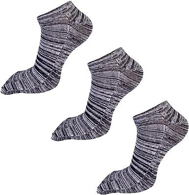 AIEOE - Pack de Calcetines Hombre de 5 Dedos Separados para Deportes Running de Algodón Elástico - Talla 39-44: Amazon.es: Ropa y accesorios