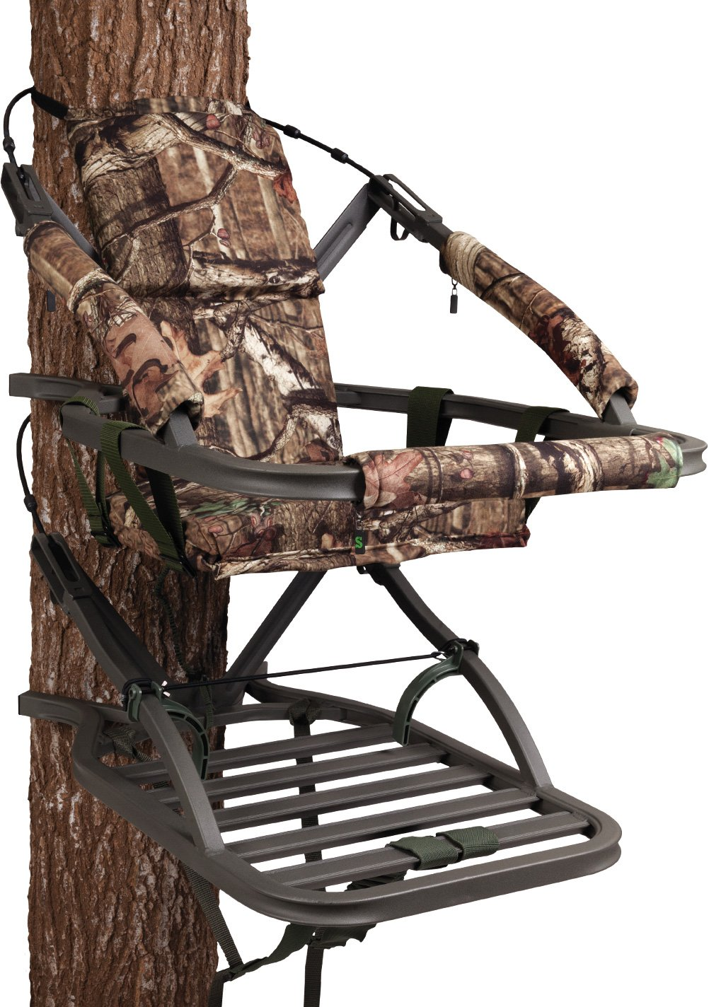 Summit Treestands SU81119 Goliath SD Climbing Treestand, Mossy Oak by Summit Treestands