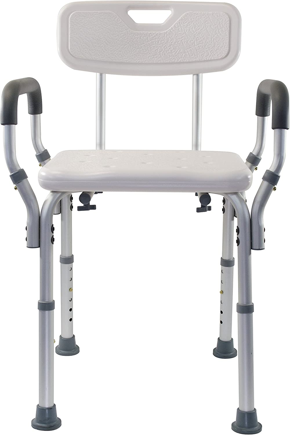 Essential Medical Supply Shower and Bath Bench with Arms and Back: Health & Personal Care