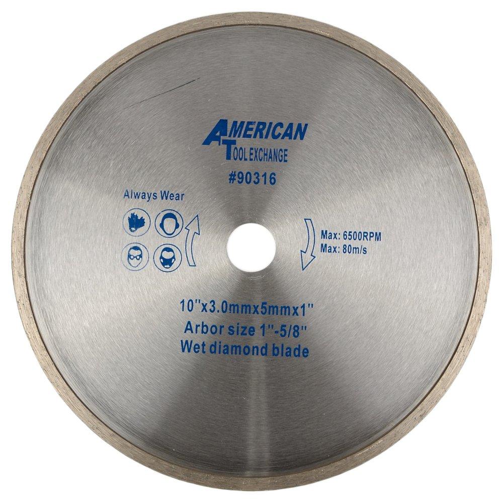 ATE Pro. USA 90316 Wet Diamond Blade, 10''