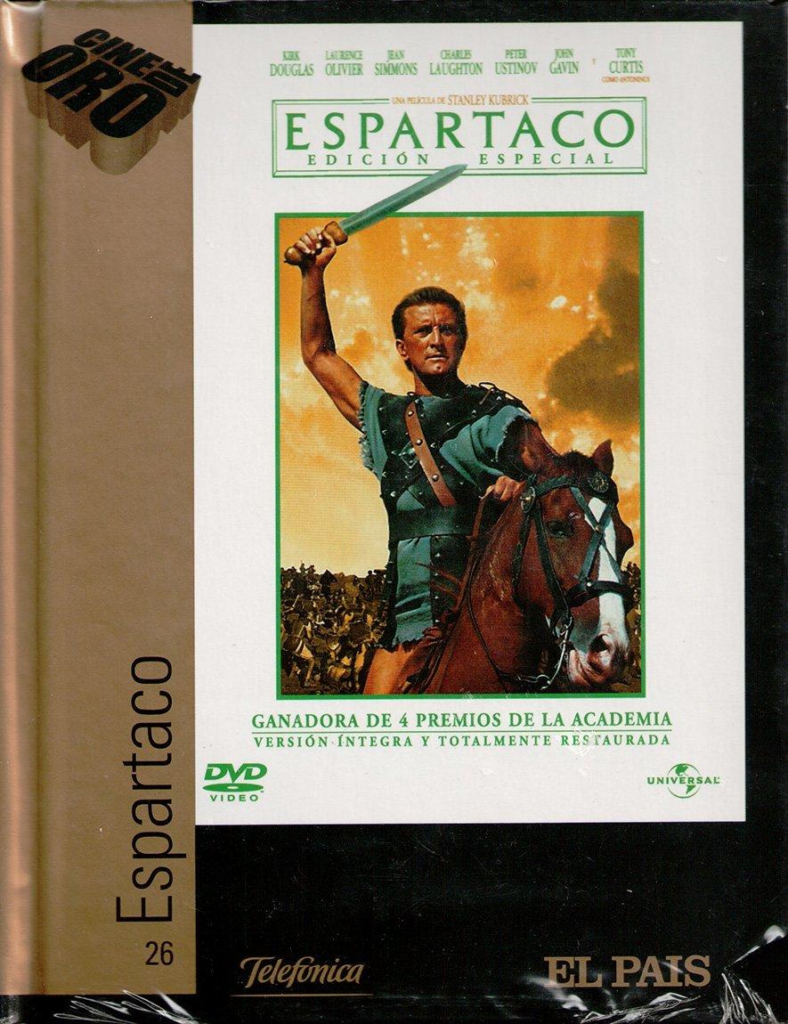 ESPARTACO DVD-LIBRO: Amazon.es: Kirk Douglas, Stanley Kubrick: Cine y Series TV