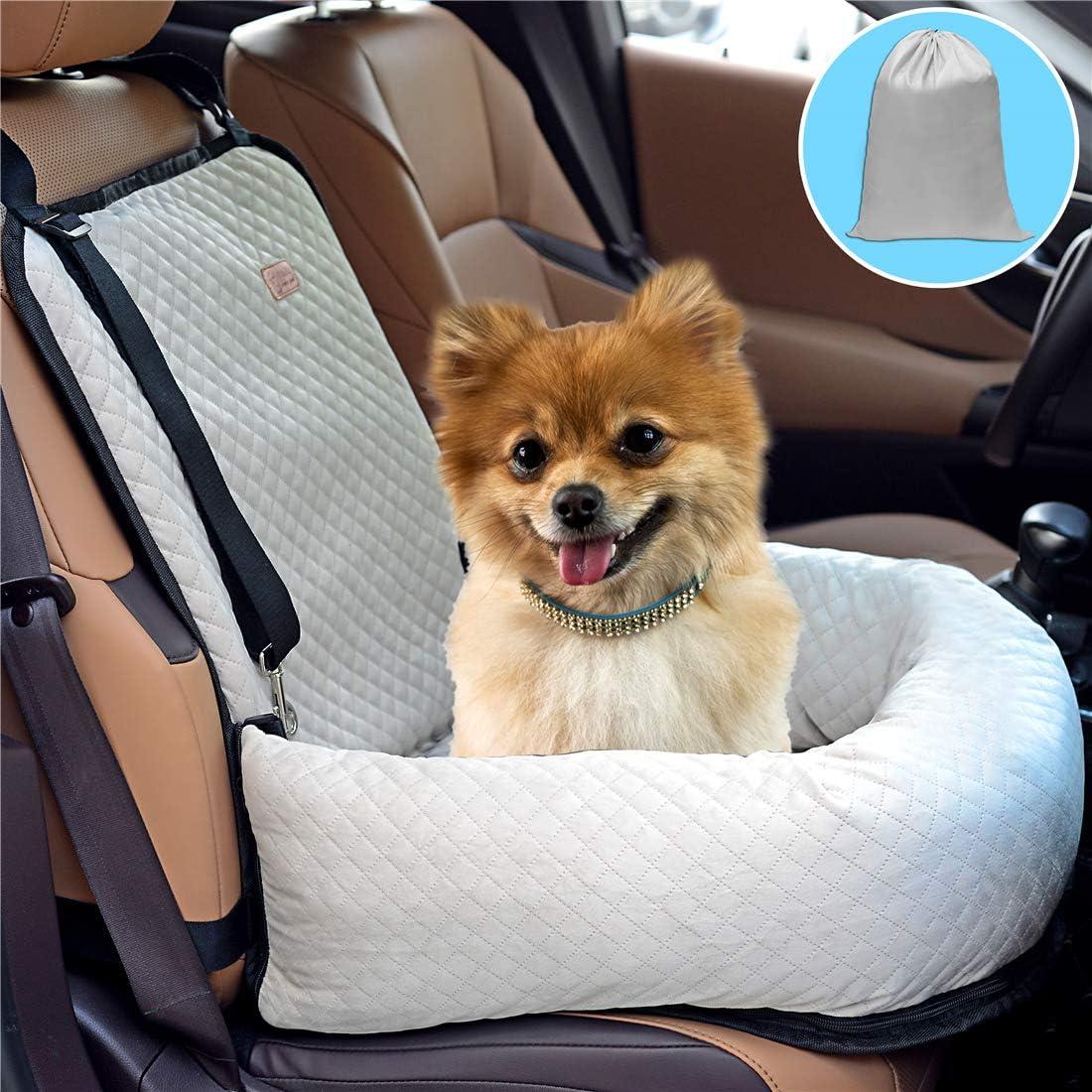 Bo Chao Hundesitz Autositz Für Hunde Haustier Autositz Geeignet Für Alle Arten Von Autos Multifunktionales Hundebett Haustier